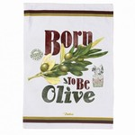 Torchon Born to be olive